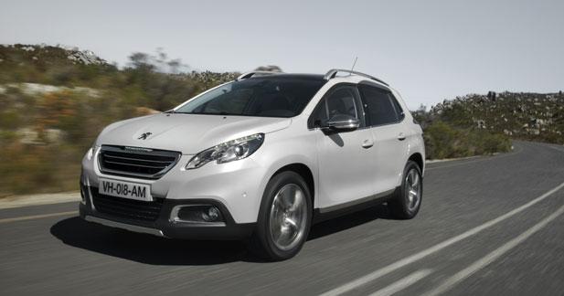 La 2008 à découvrir en location chez Peugeot