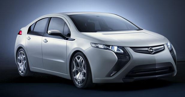 L'Opel Ampera à partir de 37900 €