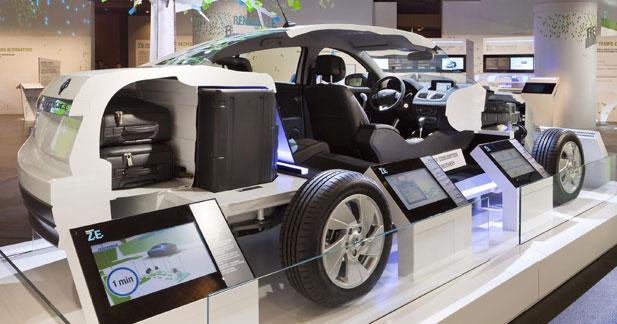 Oxygène : le thème de l'exposition Renault sur les Champs-Elysées