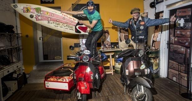 Paris Dak'art en scooter LML