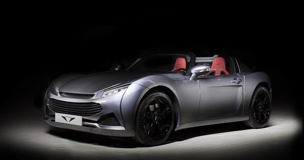 Pariss Roadster : La Pariss gagne en sérieux à Genève