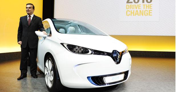 Carlos Ghosn déçu par les ventes de véhicules électriques