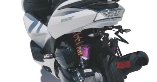 Passage de roue : Ermax pense au PCX