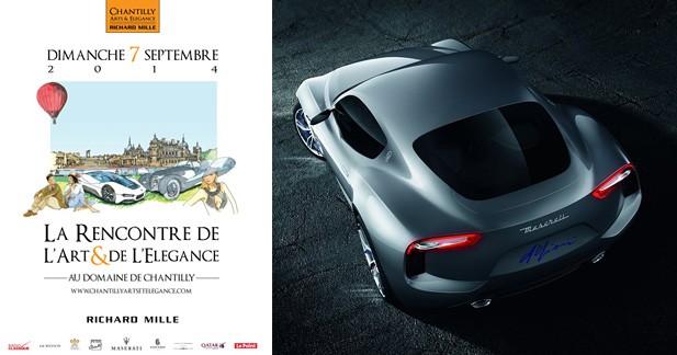 Un modèle DS inédit révélé au concours Chantilly Arts & Elegance Richard Mille