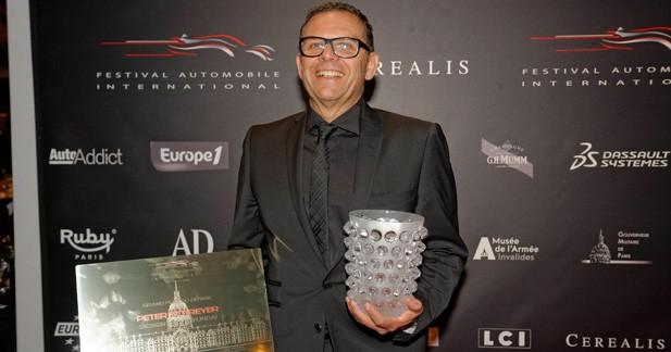 Le designer de Kia récompensé au Festival International Automobile