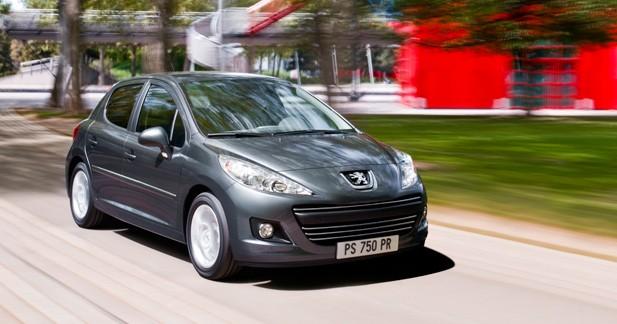 Peugeot 207 restylée : la lionne fait sa toilette