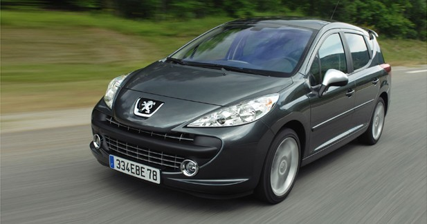 peugeot 207 sw rc break aux hormones. Black Bedroom Furniture Sets. Home Design Ideas