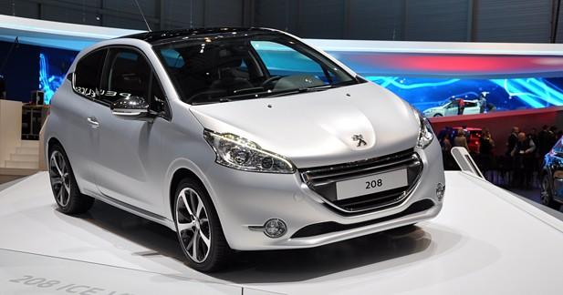 Peugeot 208 : recette minceur