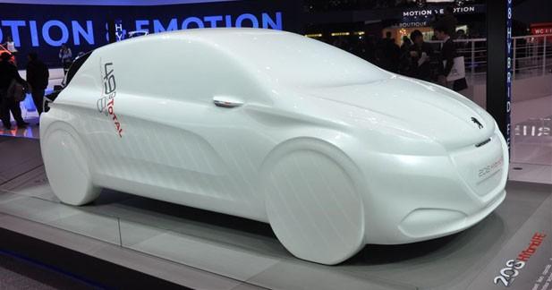 Peugeot 208 HYbrid FE : l'hybride jusque-boutiste