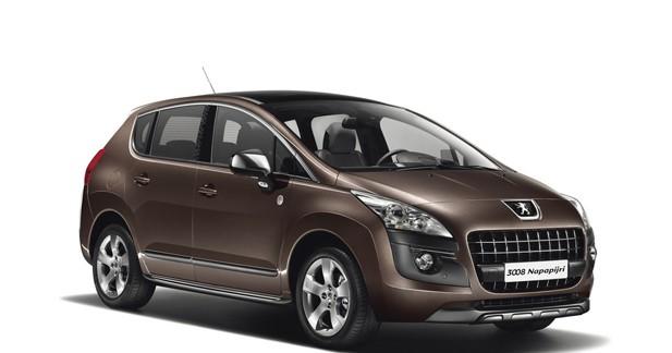 Série spéciale Napapijri pour le Peugeot 3008 au Mondial