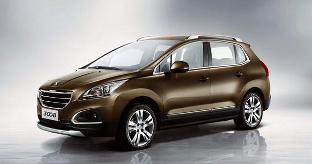 Peugeot 3008 restylé : Un Peugeot 3008 redessiné pour la Chine