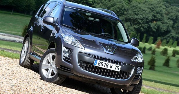 Peugeot 4007 2.2 HDi : la gueule de l'emploi