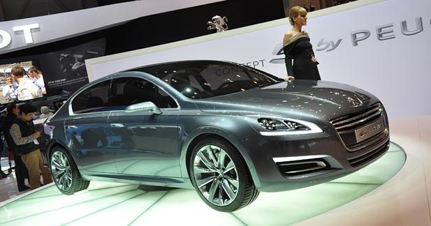 Peugeot ''5 by Peugeot'' : un avant-goût de 508