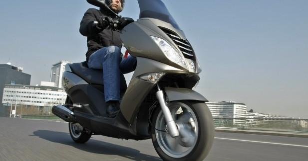 peugeot citystar 125 un scooter urbain aux performances de gt. Black Bedroom Furniture Sets. Home Design Ideas
