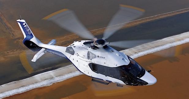 Airbus dévoile son hélicoptère imaginé par Peugeot Design Lab