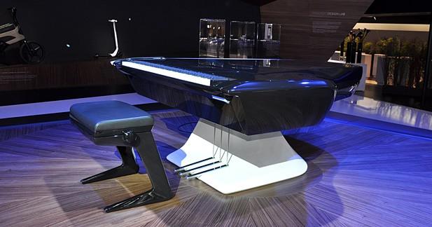 Peugeot Design Lab et Pleyel donne naissance à un piano très design