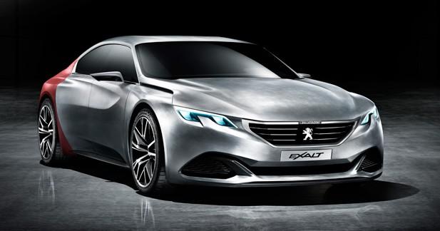 Première image du concept Peugeot EXALT