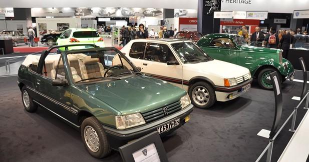 La Peugeot 205 fête ses 30 ans à Rétromobile