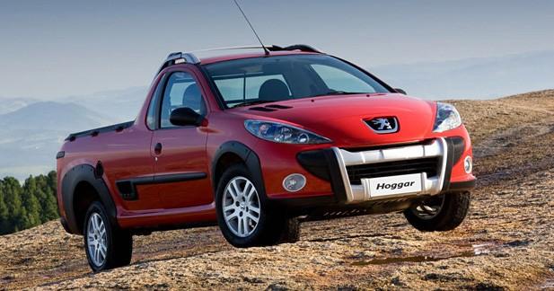 Peugeot Hoggar : un pick-up séduction pour le Brésil