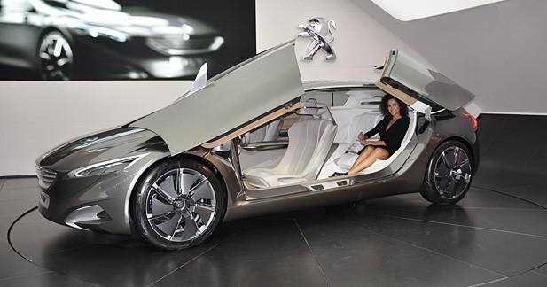 Peugeot HX1 Concept : Porte-étendard