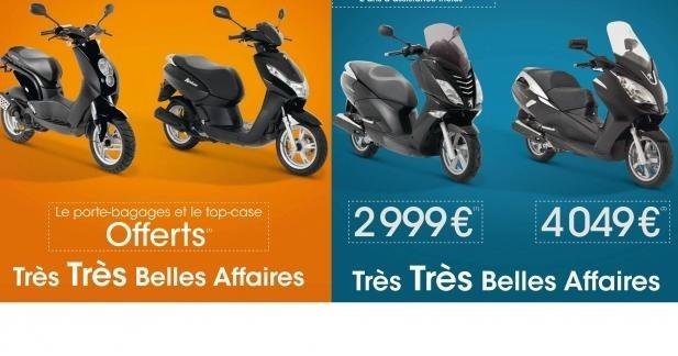 Peugeot lance ses Très Très Belles Affaires scooter !