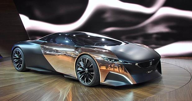 Peugeot ONYX Concept : Rêve de gloire