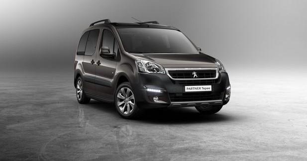 Peugeot restyle les Partner et Partner Tepee