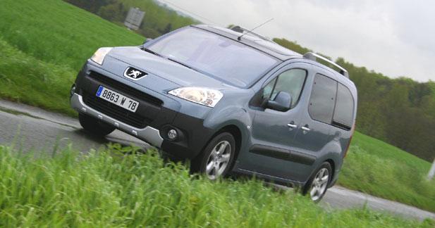 Essai Peugeot Partner Tepee : prêt pour les vacances !