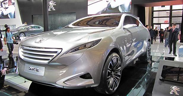 Peugeot SXC Concept : un crossover hybride pour la Chine