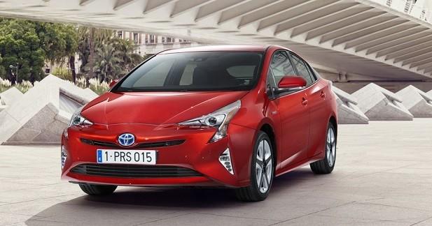 Nouvelle Toyota Prius: les photos dévoilées