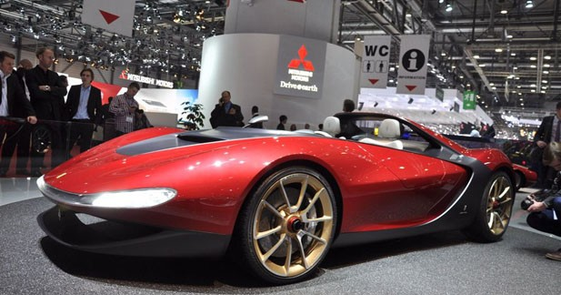Pininfarina Sergio Concept : ultime hommage