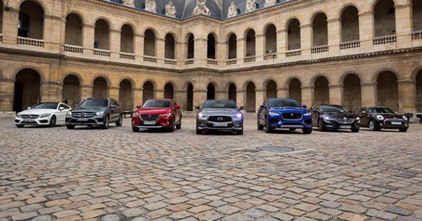 Plus belle voiture de l'année 2015: les autos encore en lice