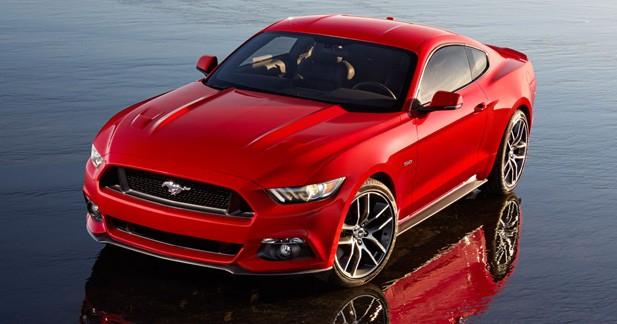 Et puis la Mustang...