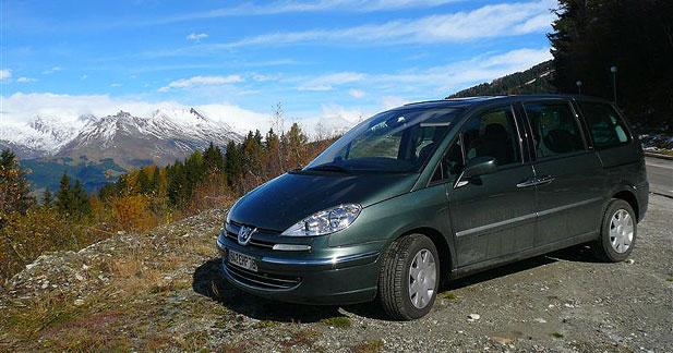 Plus de 1000 km au volant du Peugeot 807