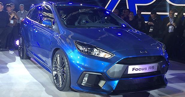 Reveal Ford Focus RS : cœur de Mustang et 4 roues motrices