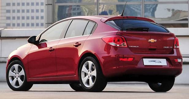 Chevrolet Cruze 5p : l'Amérique ?