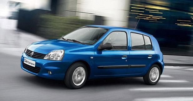 Renault Clio Campus : Dernier tout de piste