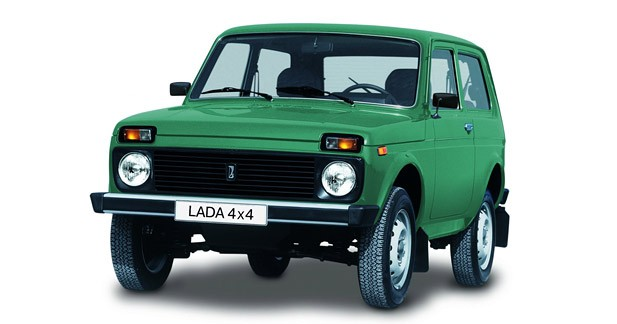 Lada Niva : Ours sibérien