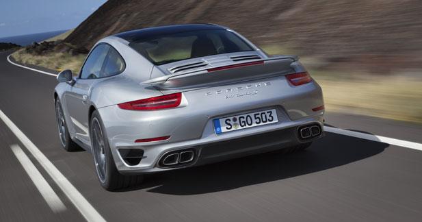 Un aérodynamisme actif pour la 911 Turbo