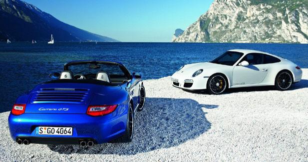 Porsche 911 Carrera GTS : un ton au-dessus