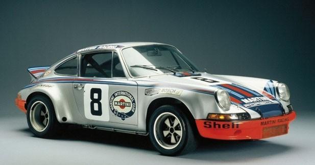 La Porsche 911 Carrera RS 2.7 célèbre ses 40 ans