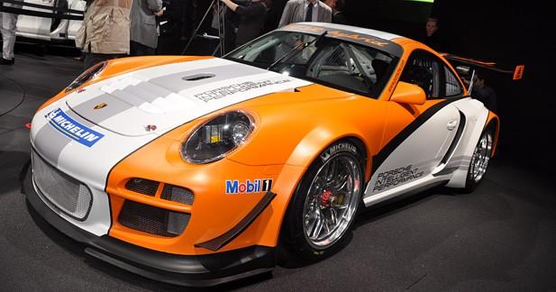 Porsche 911 GT3 R Hybrid : la piste avant la route