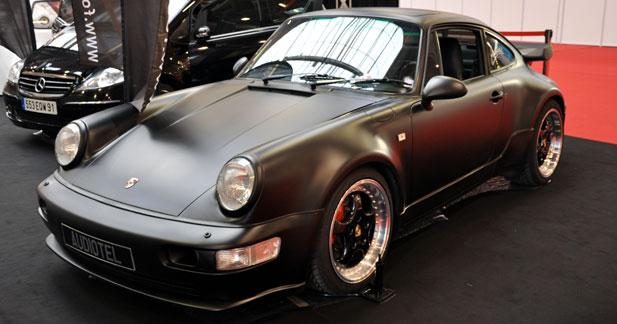 Porsche 911 Audiotel :  le respect des traditions
