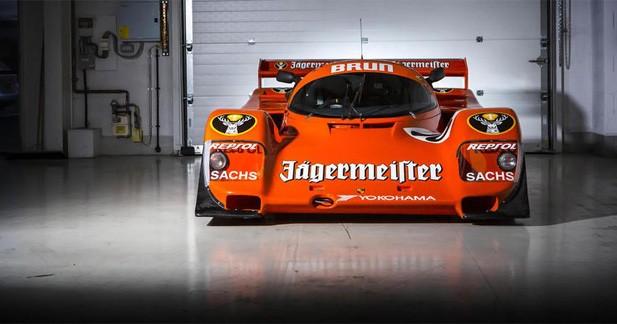 Porsche 962C : une star de l'endurance à vendre chez Bonhams