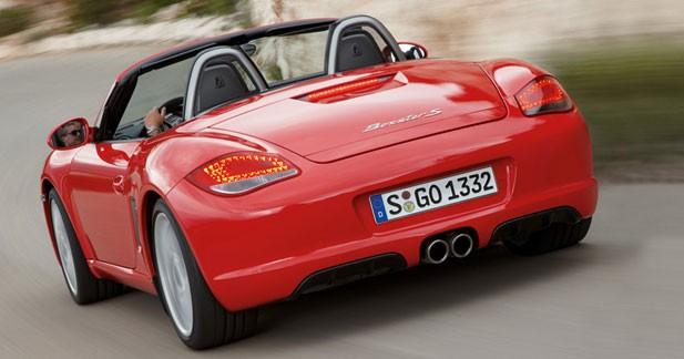 Porsche Boxster et Cayman 2009 : plus pour moins