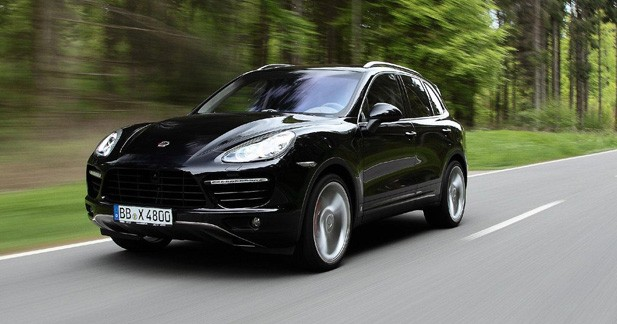 Porsche Cayenne II : déjà entre les griffes de TechArt