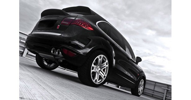 Kahn Design s'attaque au Porsche Cayenne