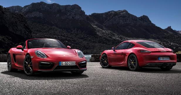 Les Porsche Cayman et Boxster GTS seront à Pékin