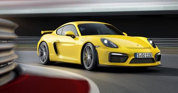 Porsche Cayman GT4: dopée aux hormones de 911 GT3