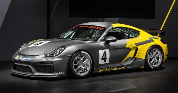 Porsche Cayman GT4 Clubsport: rien que pour le circuit